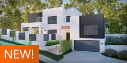 Silvereye, Sloping Lot House Plan