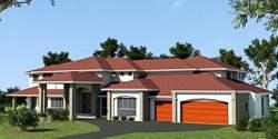 Retreat Highset, Acreage Lot House Plans