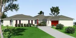 Royal Blue Bell, Acreage Lot House Plans