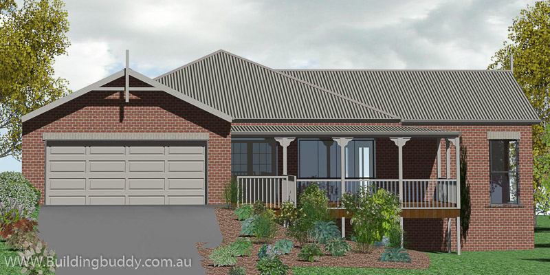 Jarrah, Acreage Lot House plan
