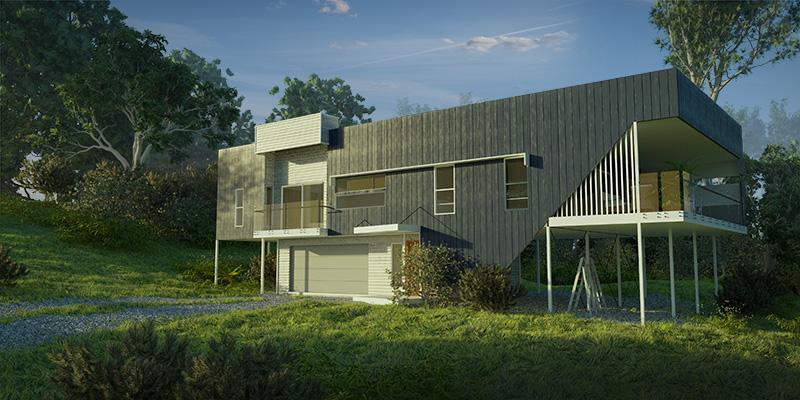 Kaiser, Acreage Lot Custom Home Design