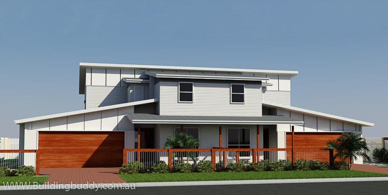 Siemon, Duplex House Plan