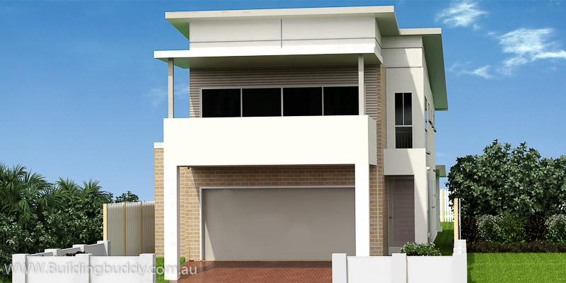 Grevillea, Modern Facade House Plan