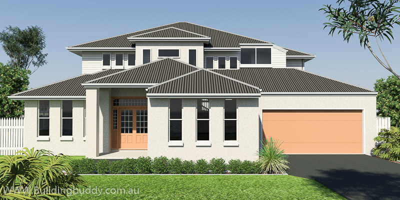 Banksia, Highset House Plan