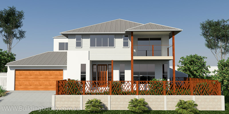 Maidenhead Fern, Two Storey House Plan
