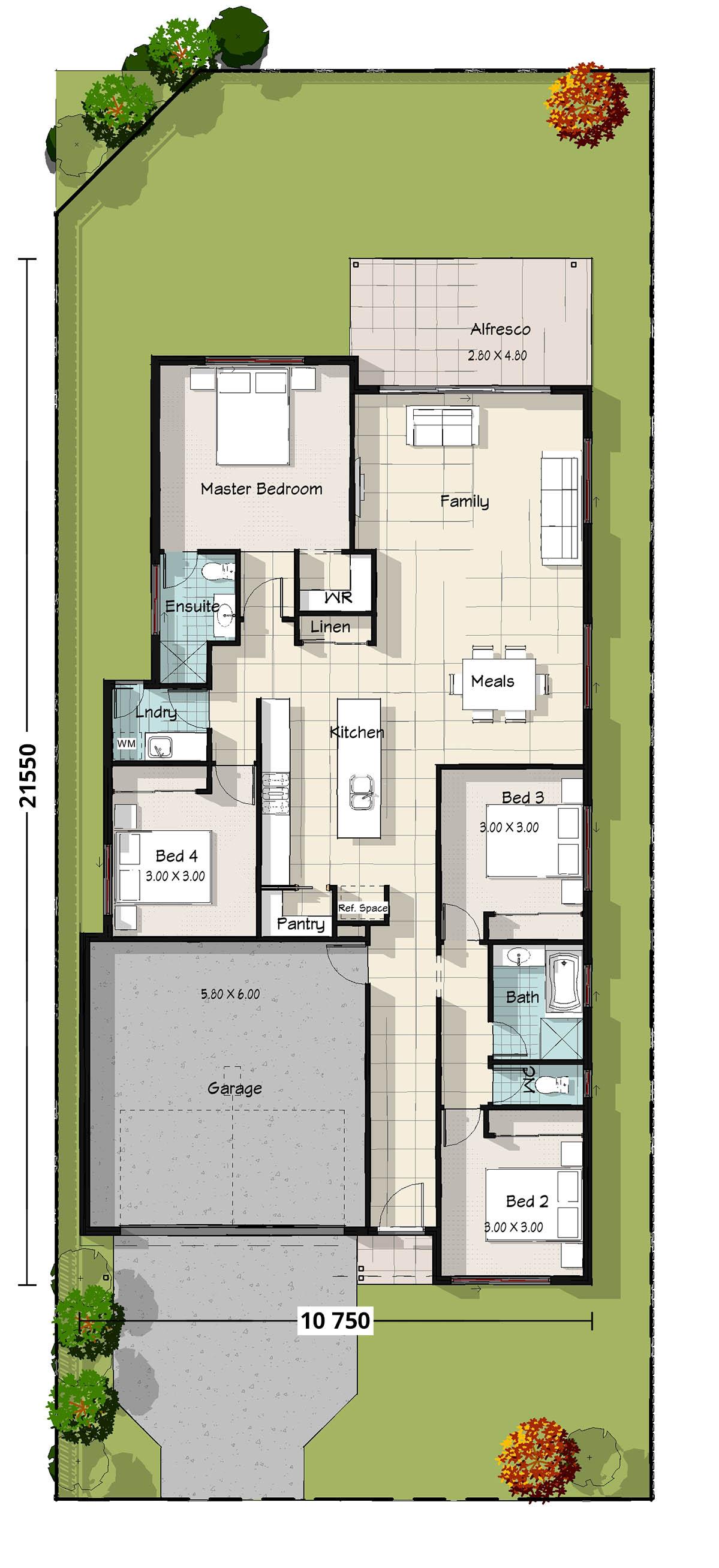 Wagtail Floorplan