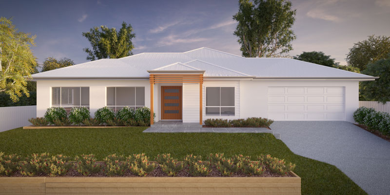 Bronzewing, Lowset House Plan