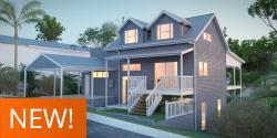 Rosella, Highset House Plan