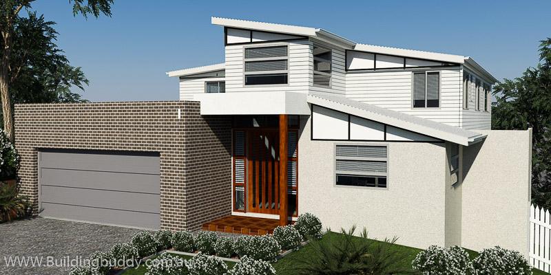 Water Gum, Sloping Lot House Plan
