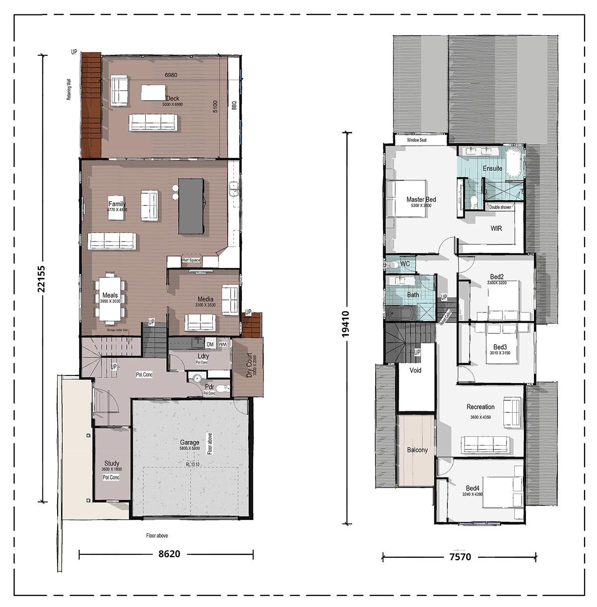 Goshawk Floorplan
