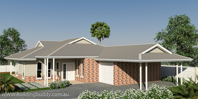 Retreat, Acreage Lot House Plan