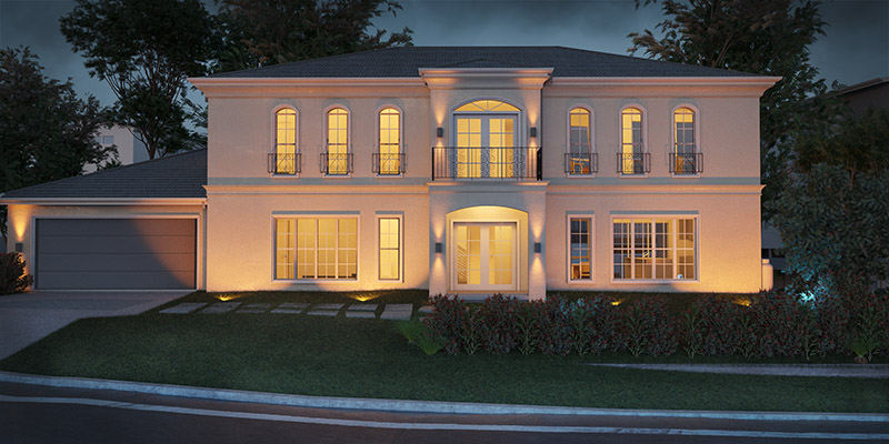 Lister Two Storey House Plan