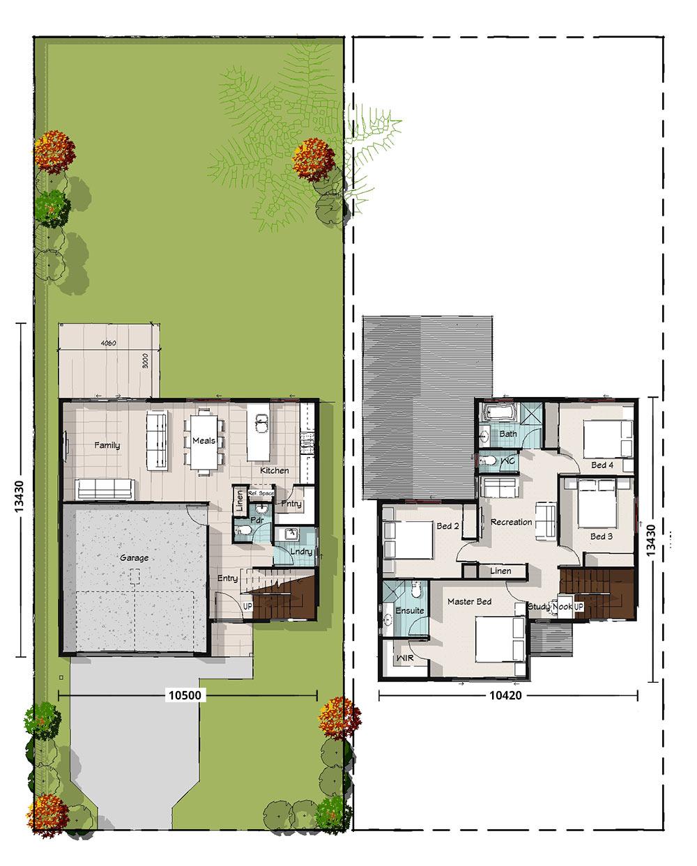 Kingfisher Floorplan