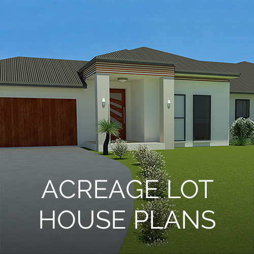 Acreage Lot House Plan