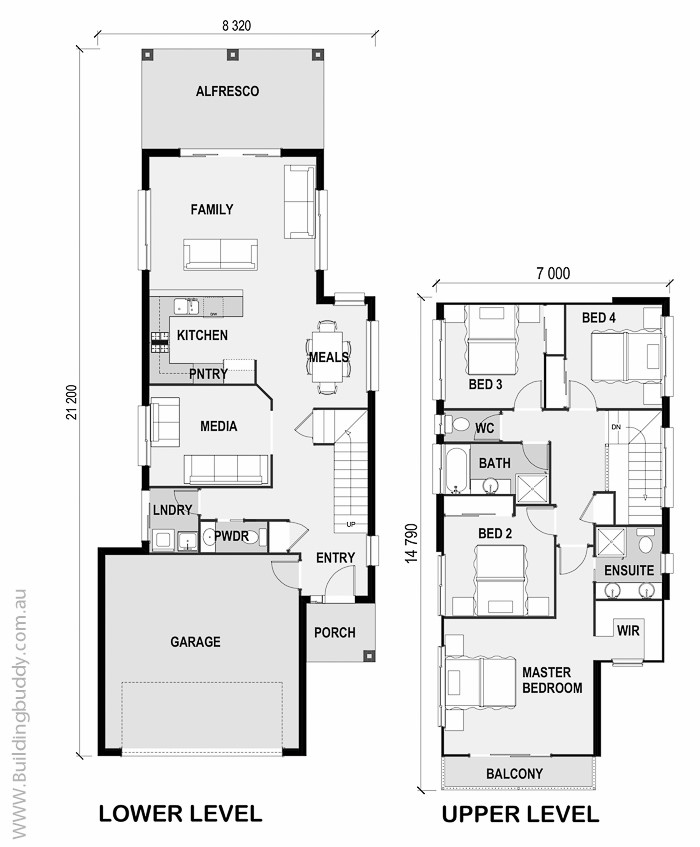 Tiny Houses Little Lots Floor Plans For Very Small: Wattle, House Plans, Home Designs, Building Prices
