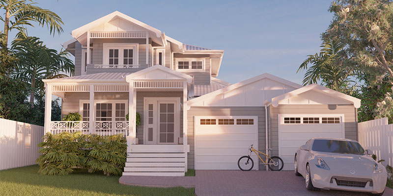 Alleena, Two Storey House Plan