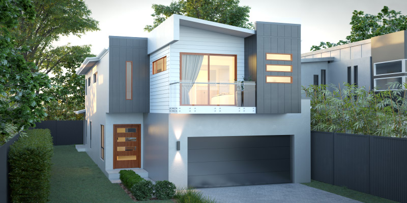 Heron Two Storey House Plan