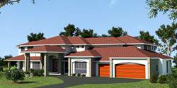 Retreat Highset, Acreage Lot House Plans