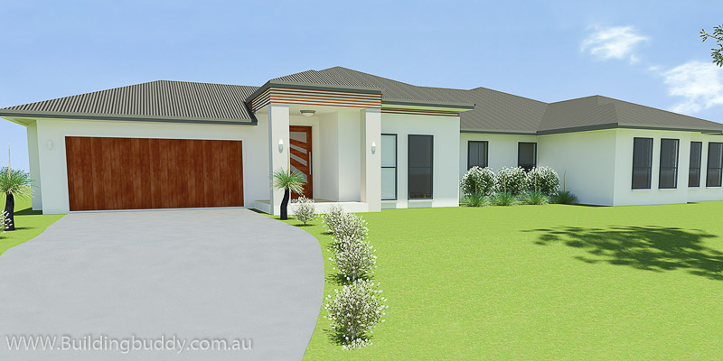 Hibiscus, Acreage Lot house Plan