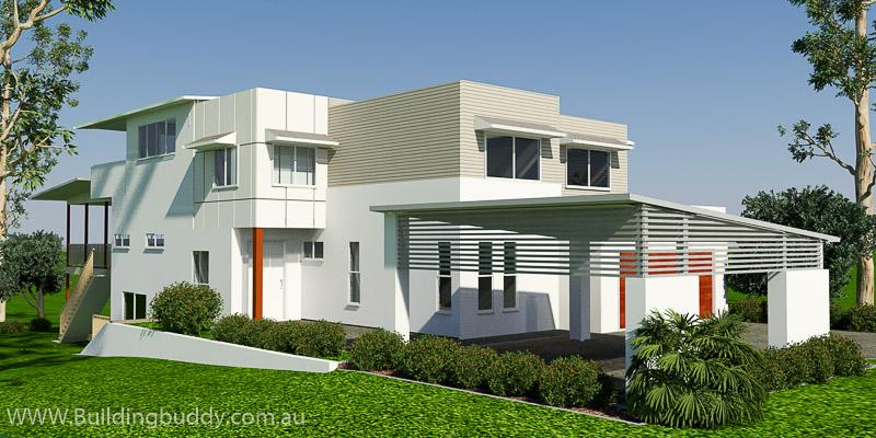 Ferndango, Duplex House Plan
