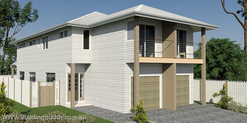 Tallow Wood, Duplex Lot House plan
