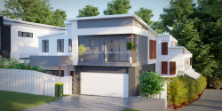 Firetail, Duplex House Plan