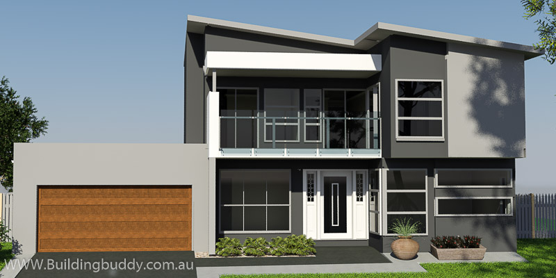 Carioca, Two Storey House Plan