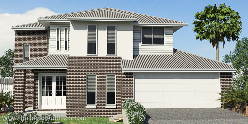 Casuarina, Two Storey House Plan