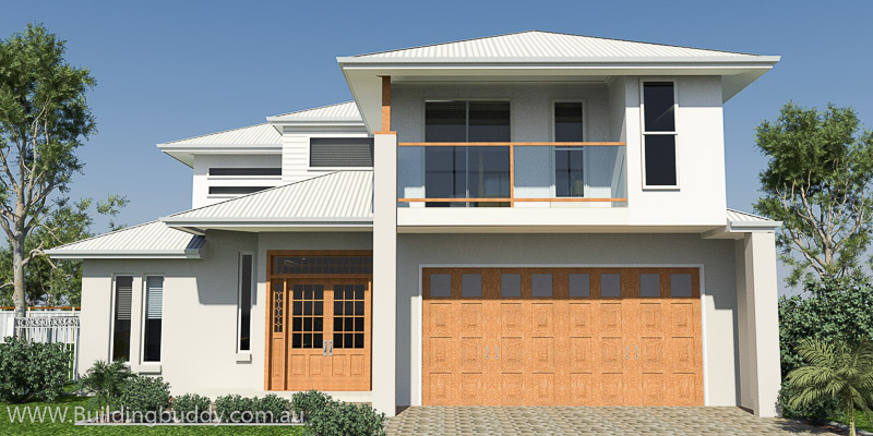 Red Ash, Two Storey House Plan