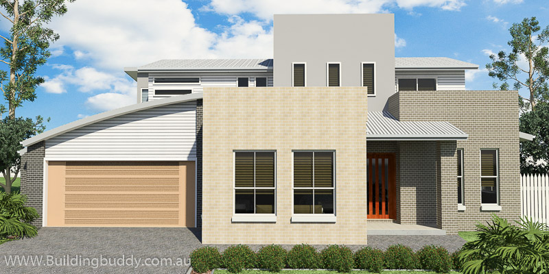 Silver Birch, Two Storey House Plan