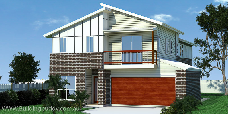 Songo, Two Storey House Plan
