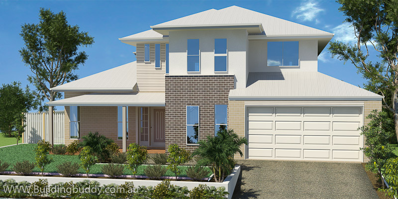 Poinciana, Two Storey House Plan