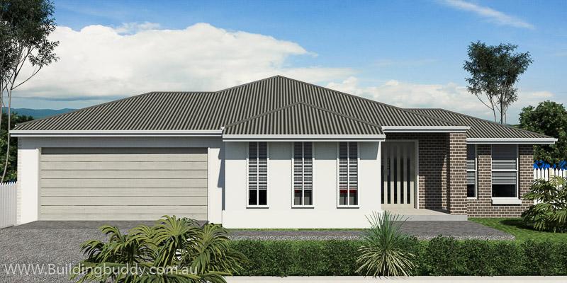 American Fan Palm, Lowset House Plan