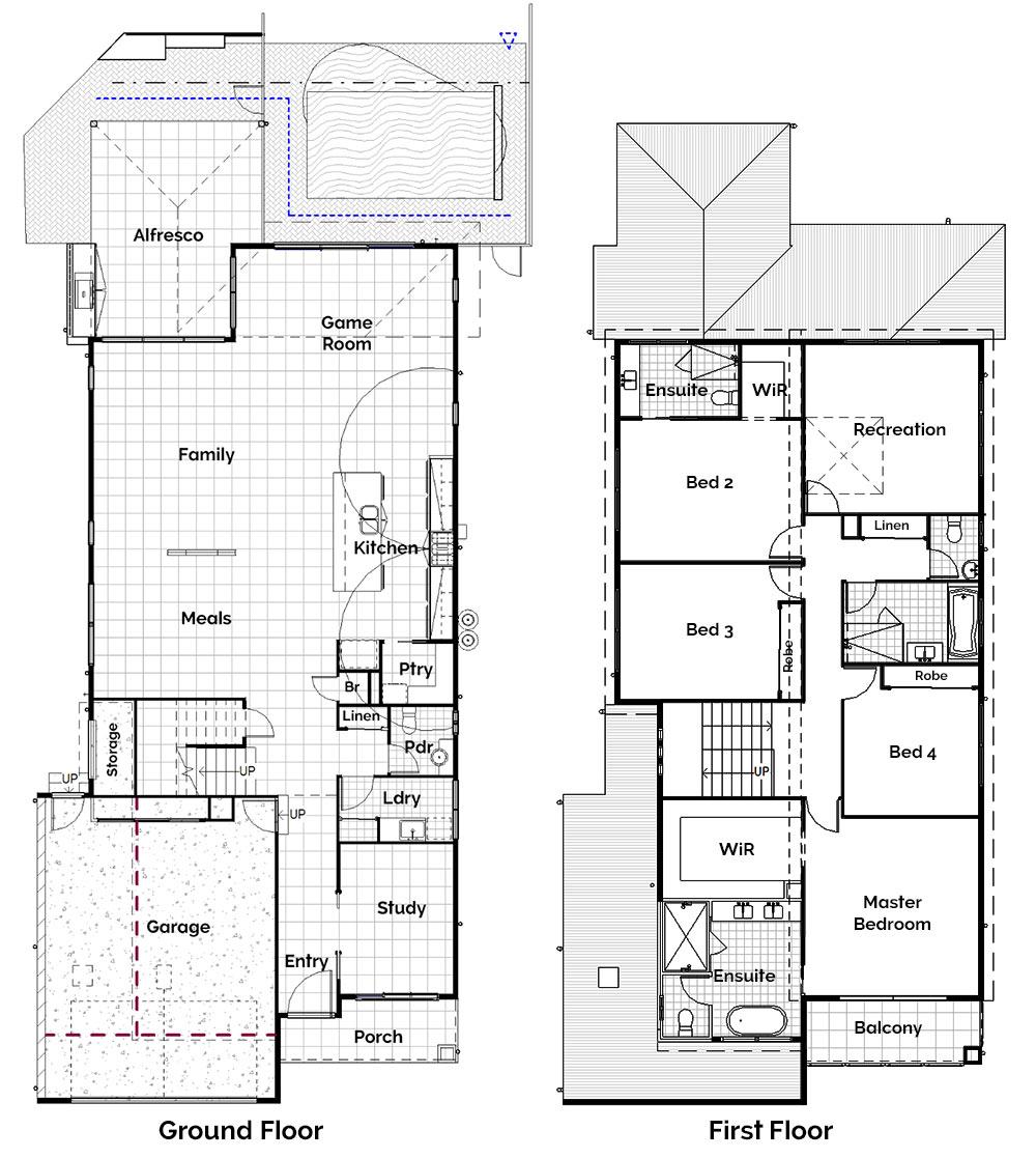 Castile Modern Home Build