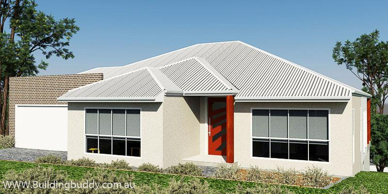 Blackwood Cassia, Sloping Lot House Plan