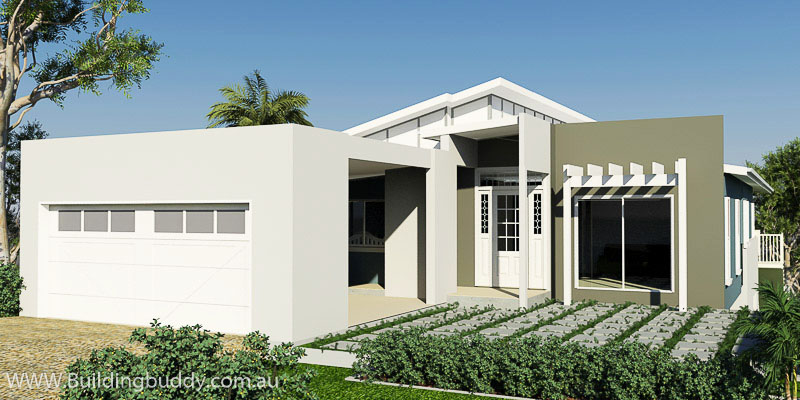 Kauri, Sloping Lot House Plan