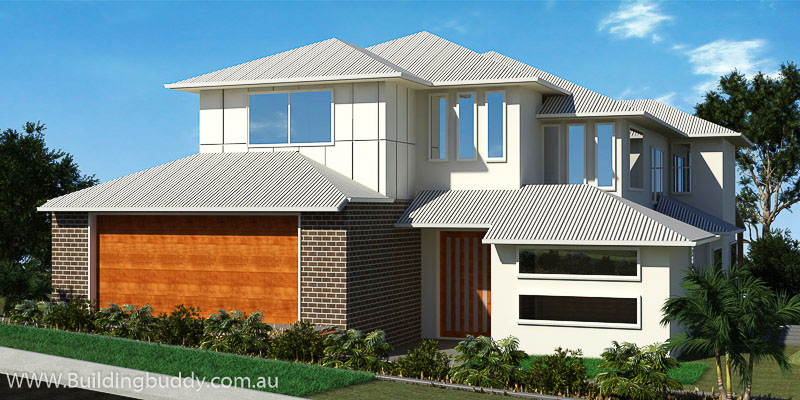 Mambo, Sloping Lot House Plan