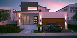 Esplannade, Two Storey House Plan, Custom Home Design