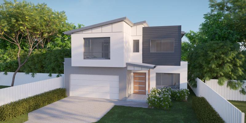 Cockatiel Modern, Lowset House Plan
