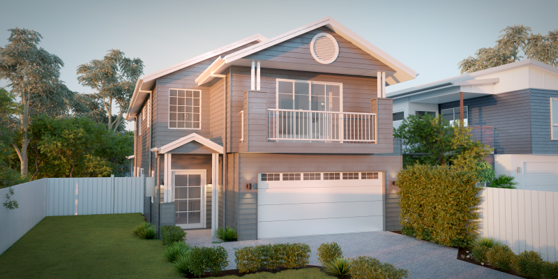 Enoggera Two Storey House Plan