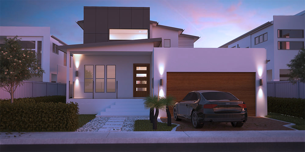 Esplannade Two Storey House Plan