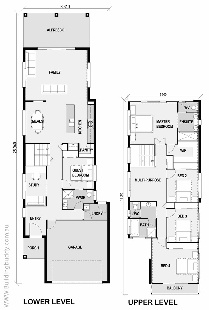 boronia small lot house plan connecting customers builders. Black Bedroom Furniture Sets. Home Design Ideas