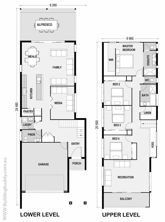 waratah small lot house plan connecting customers builders. Black Bedroom Furniture Sets. Home Design Ideas